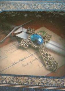 Сапфировый крест