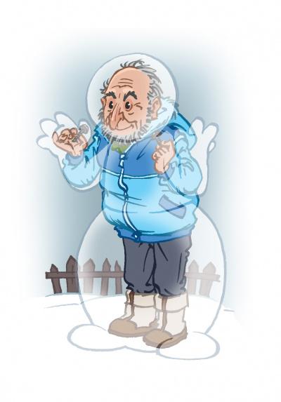 Простые радости снеговика Моти