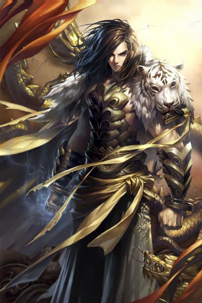 Бог Войны, отмеченный Драконом. Часть 3